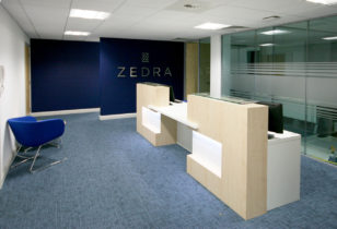 Zedra fit out complete
