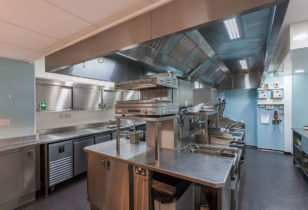 Rocquettes Hotel Kitchen